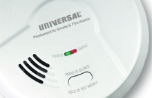 Photoelectric Smoke Detectors, Universal Security Fire Alarms