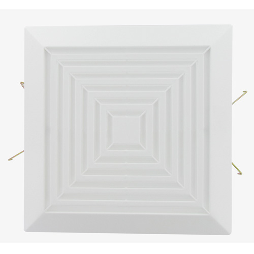 Usi Square Grille Assembly Replacement Part For Bath Fans Bfsgr Universal Security Store