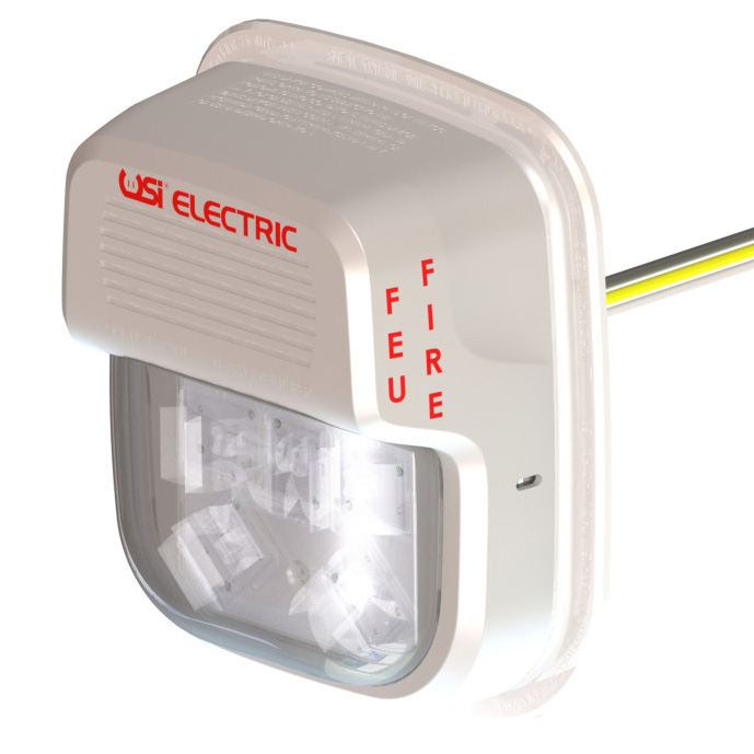 USI Electric Hardwired LED Wall Mounted Smart Strobe Light (SLW127)