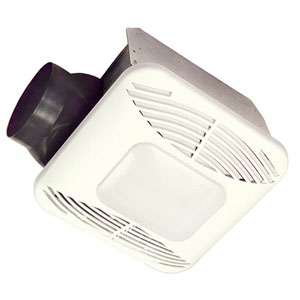 USI Electric Energy Star Qualified Bath Exhaust Fan with Nightlight and Fan Light, 110 CFM (BF-1106L52UQ)