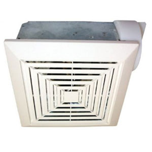 USI Electric Bath Exhaust Fan with 3-Inch Vent and Custom-Designed Motor, 50 CFM (BF-503)