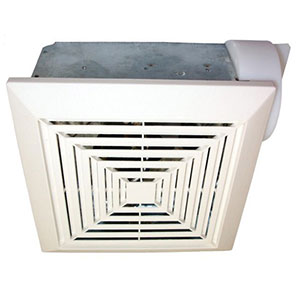 USI Electric Bath Exhaust Fan with 3-Inch Vent and Custom-Designed Motor, 70 CFM (BF-703)