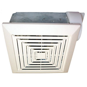 USI Electric Bath Exhaust Fan with Custom-Designed Motor, 90 CFM (BF-904)