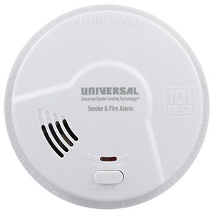 USI Kitchen 10 Year Sealed Battery Smoke & Fire Smart Alarm (MDSK300S)