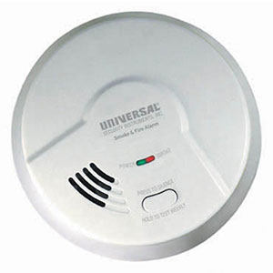 USI Smart Battery-Operated Photoelectric Smoke Alarm (MP308)