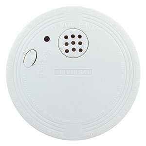 Universal Security Instruments Battery-Operated Photoelectric Smoke and Fire Alarm, 2-Pack (SS-901-2C/3CC)