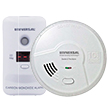 USI 10 Year Alarm Starter Kit, Smoke, Fire & Carbon Monoxide Bundle, Includes 2 Alarms