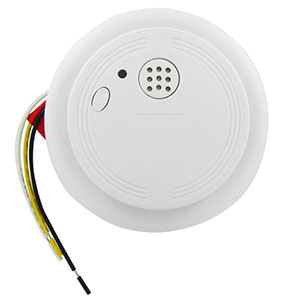 USI Ionization 120-Volt Wired-In Smoke Alarm with Battery Backup (USI-1204HA)